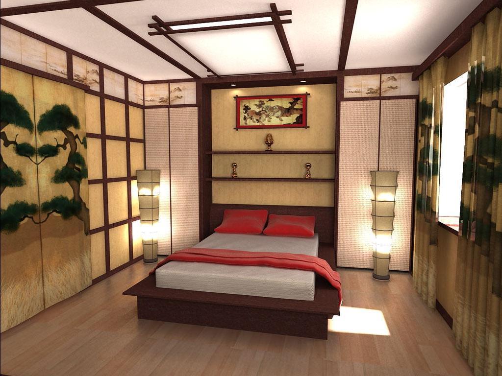 Стили спальной комнаты восток