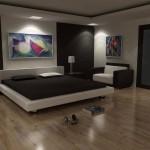 Картины в дизайне спальной комнаты