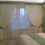 Выбор штор для спальной комнаты
