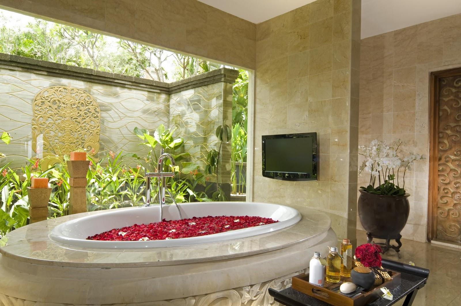 Ванная комната в этническом-стиле