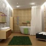 Ванная комната в этническом-стиле дизайн