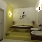 Ванная комната в этническом-стиле дизайн фото