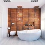 Дизайн ванной комнаты в стиле модерн фото