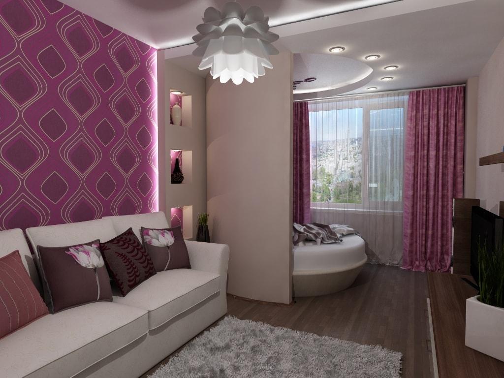 Дизайн спального места варанты