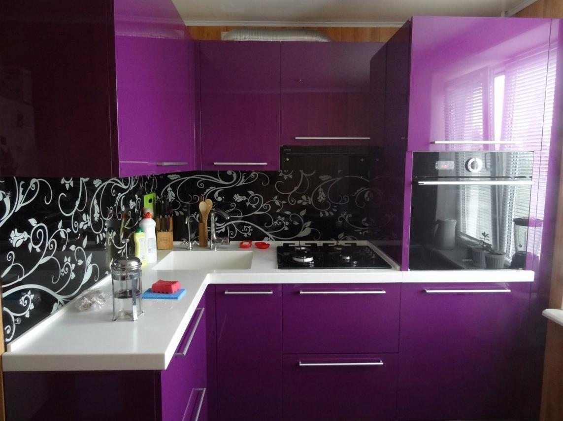 дизайн угловой кухни фото