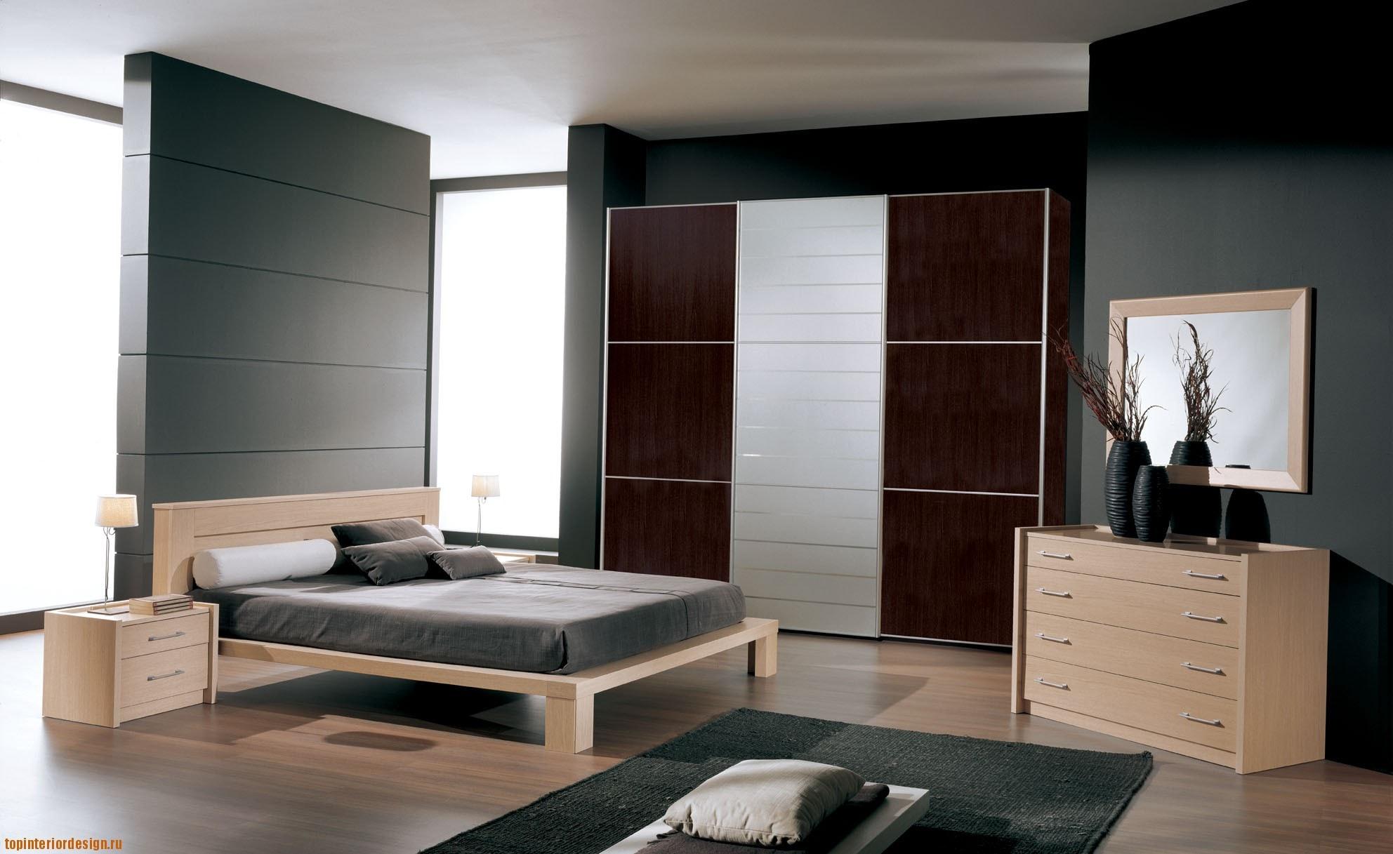 Выбор мебели в дизайне спальни фото