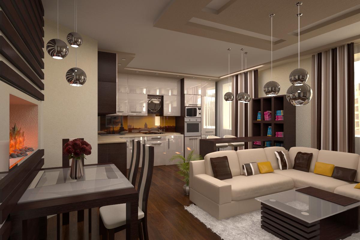 Дизайн эконом однокомнатной квартиры