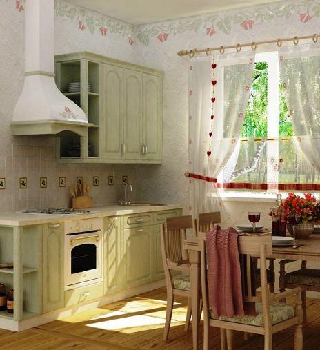 прованс на кухне фото