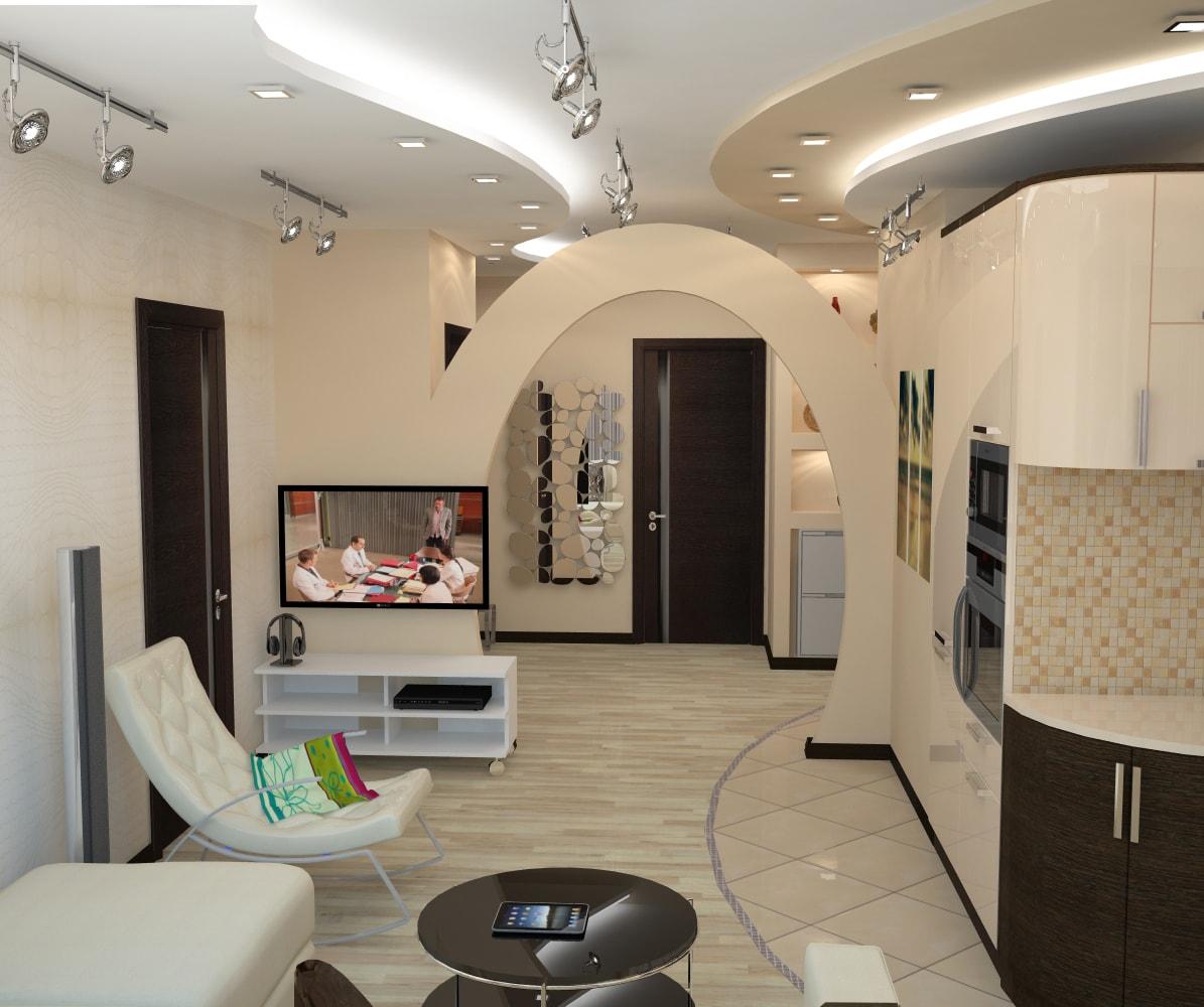 Design m2 for Separation salon en platre