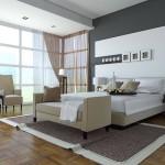 Дизайн пола спальной комнаты