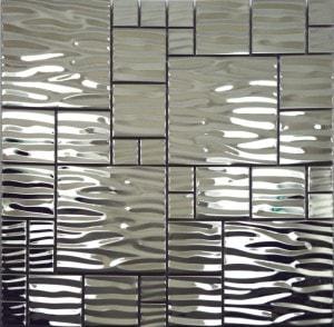 Дизайн плитки под металл