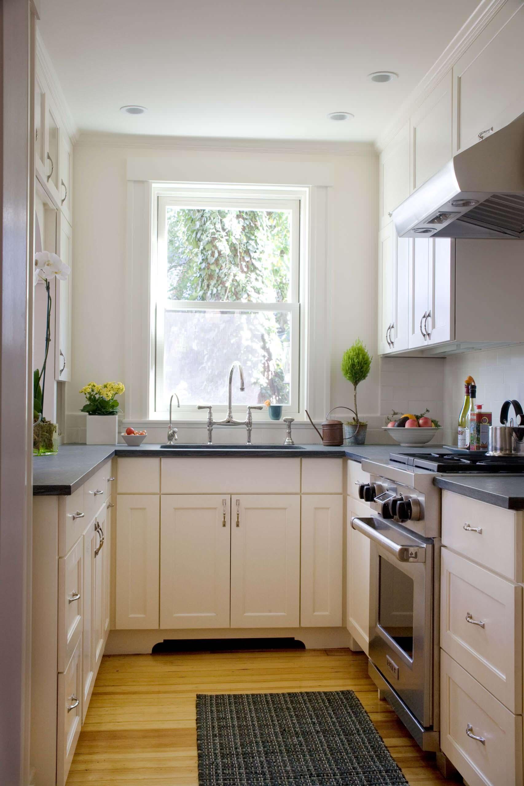 преимущества п-образной кухни