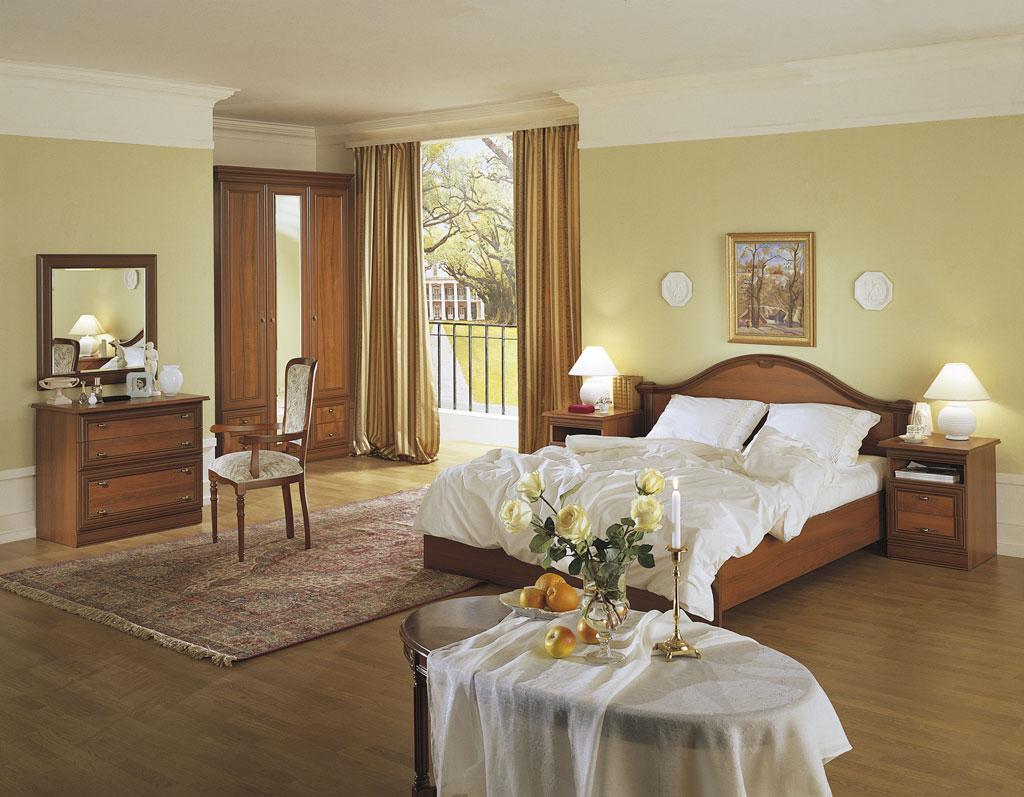 Дизайн стен спальной комнаты штукатурка