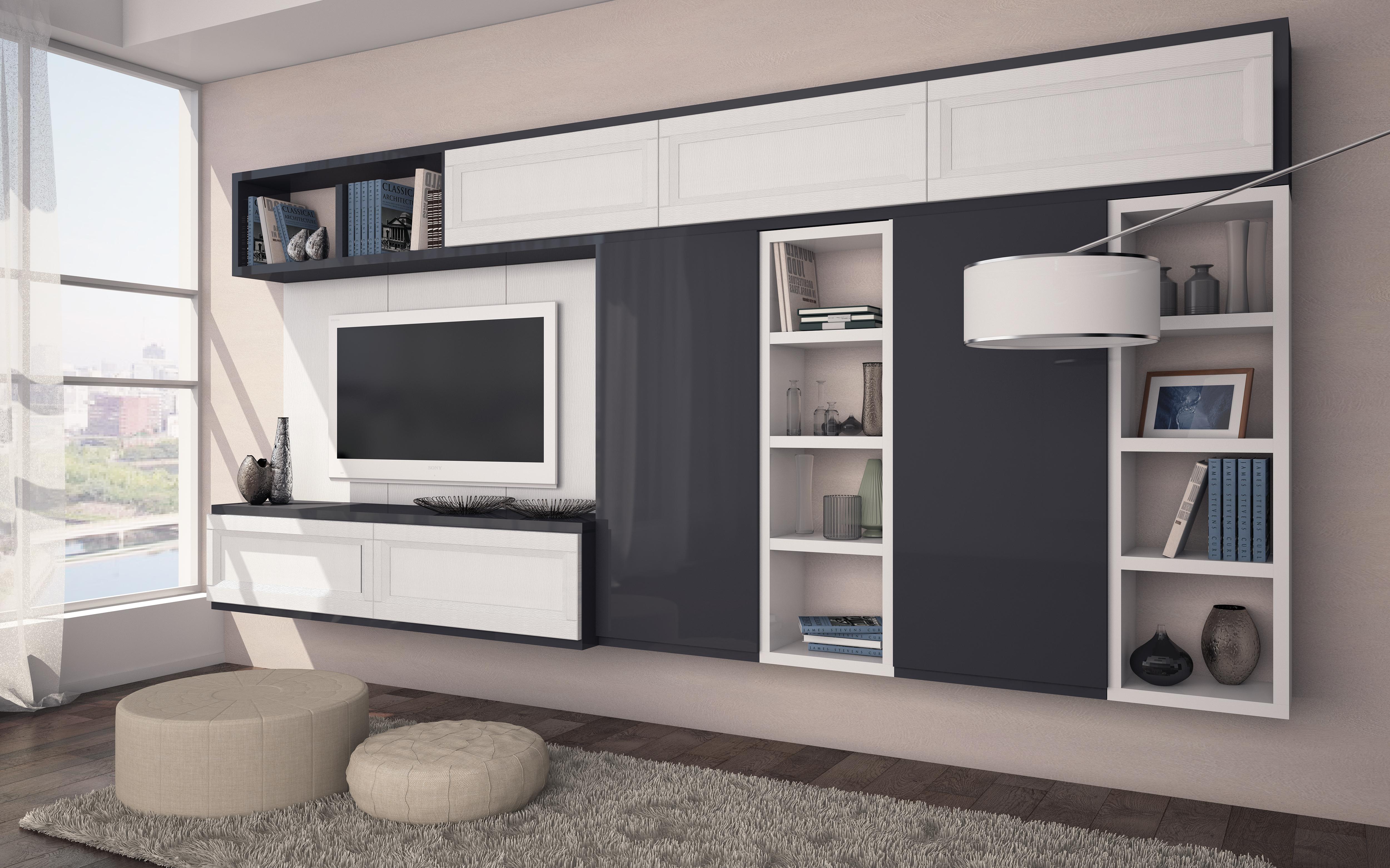 современная мебель для гостиной комнаты