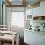 цвет маленькой кухни