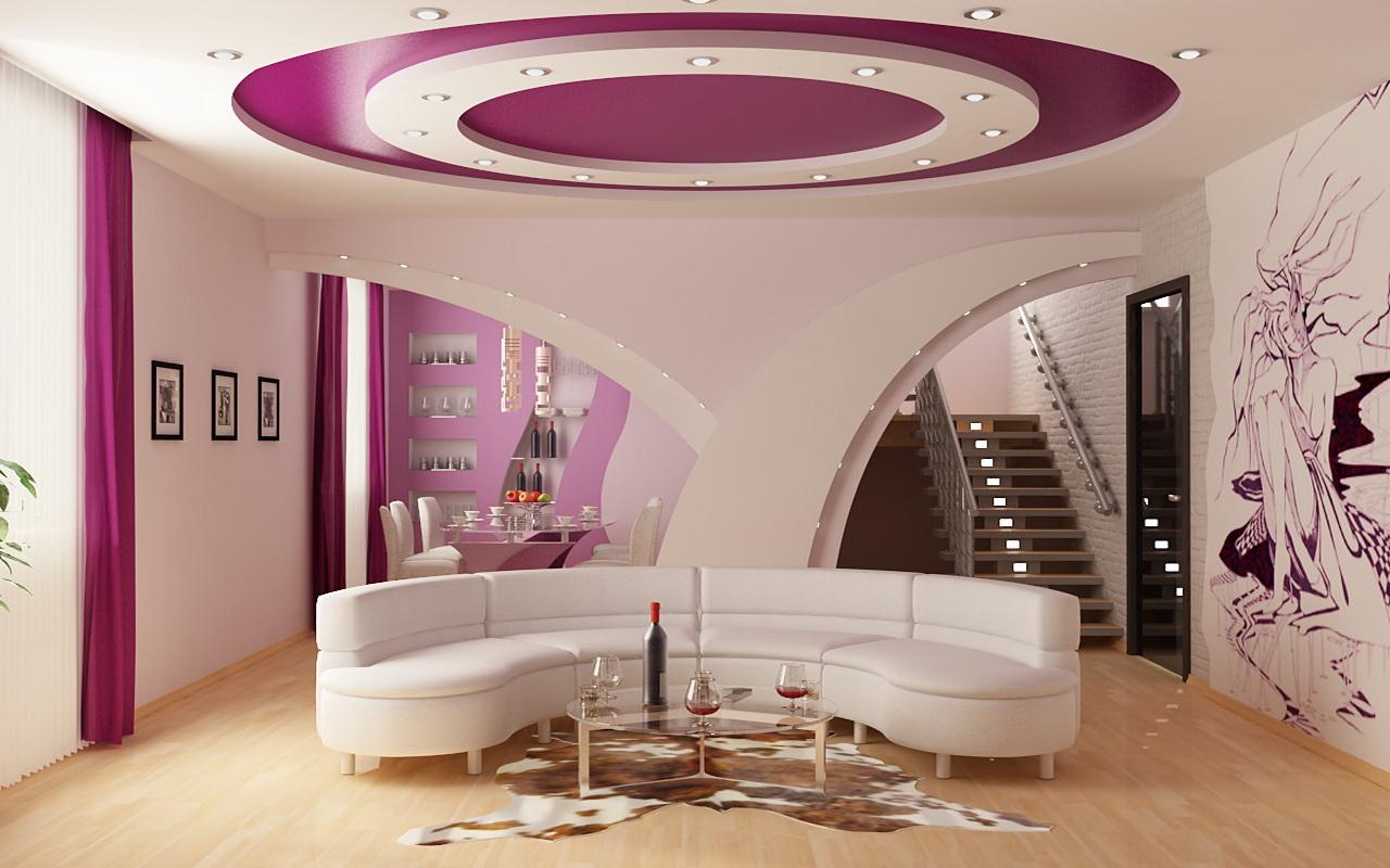 цвет гостиной