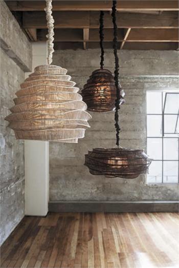 Дизайнерские лампы в стиле лофт