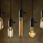 Лампы Эдисона в стиле лофт