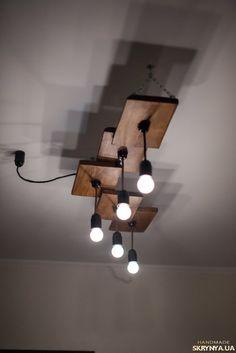 Необычные лампы для кухни в стиле лофт