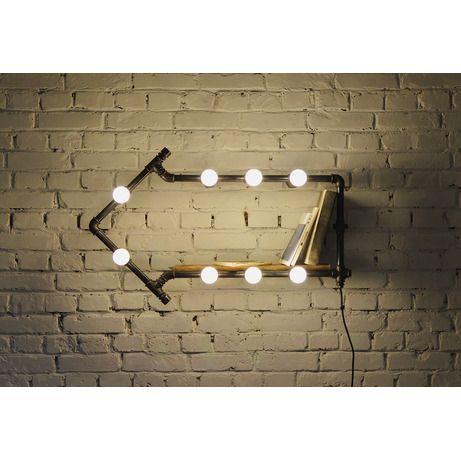 Настенное освещение для кухни лофт