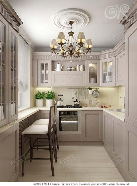 Дизайн кухни ДСП