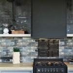 Кухонная плита в стиле лофт