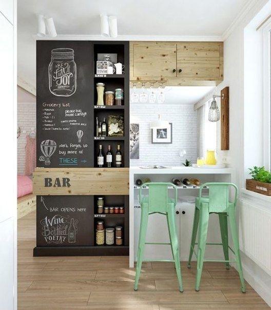 Грамотное распределение пространства кухни
