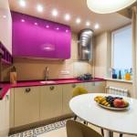 Функциональная маленькая кухня