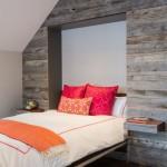 Шкаф-кровать в дизайне спальни