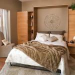 кровать-шкаф трансформер в спальне