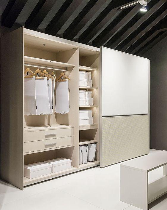 внутренний дизайн шкафов