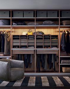 дизайн секций шкафа-купе