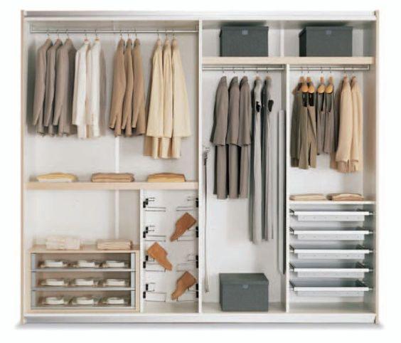 дизайн пространства шкафа-купе