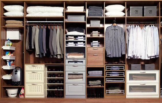 внутренний дизайн пространства шкафа