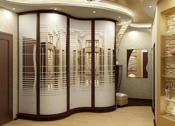 дизайн угловых шкафов для спальни