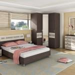 Угловые шкафы в дизайне спальни
