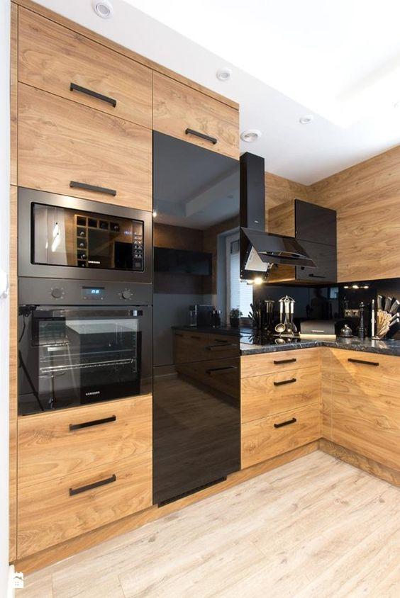 кухонный шкаф со встроенной техникой