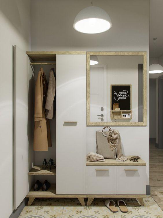 шкаф для одежды в прихожей