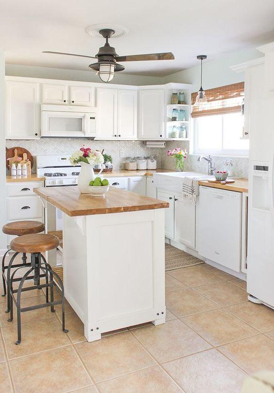 функциональный дизайн кухни в частном доме