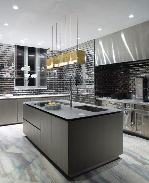 черный цвет в дизайне кухни в стиле минимализм