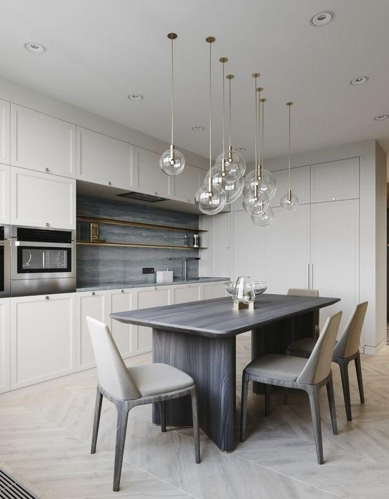 роль освещения в интерьере кухни в стиле минимализм