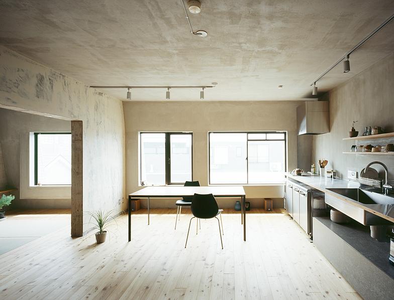 вариант оформления интерьера кухни в стиле минимализм
