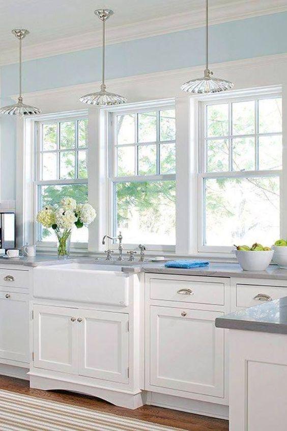 дизайн освещения кухни в частном доме
