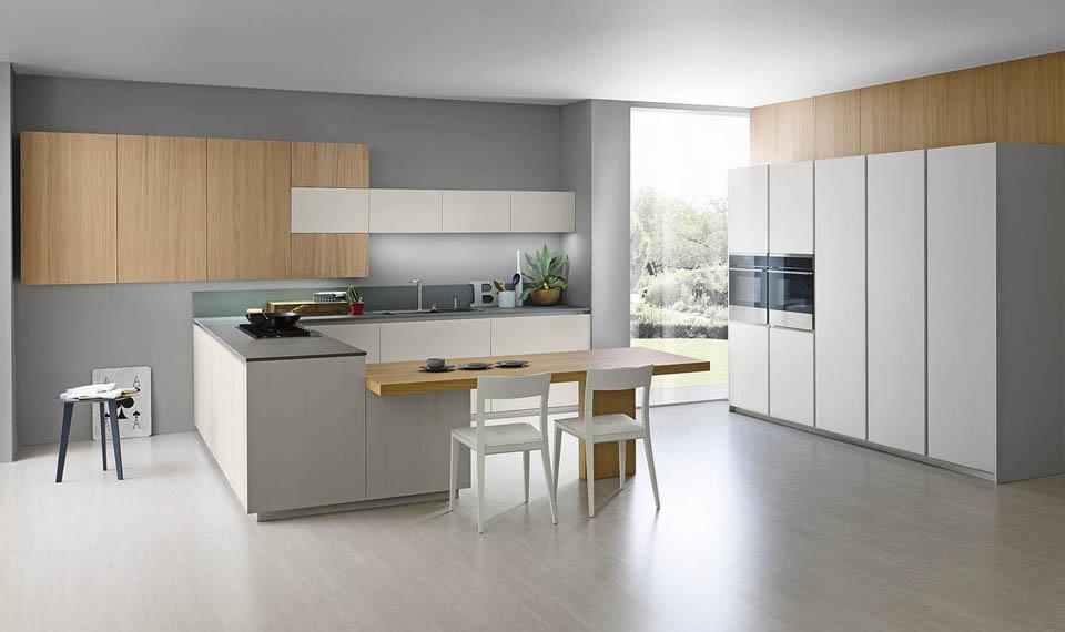 стиль минимализм в оформлении кухни