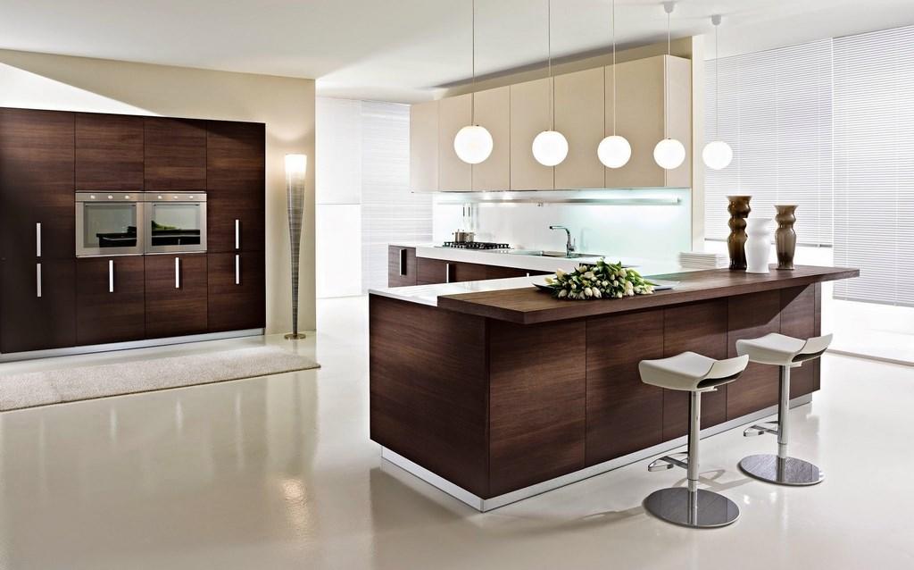 современное оформление интерьера кухни в стиле минимализм