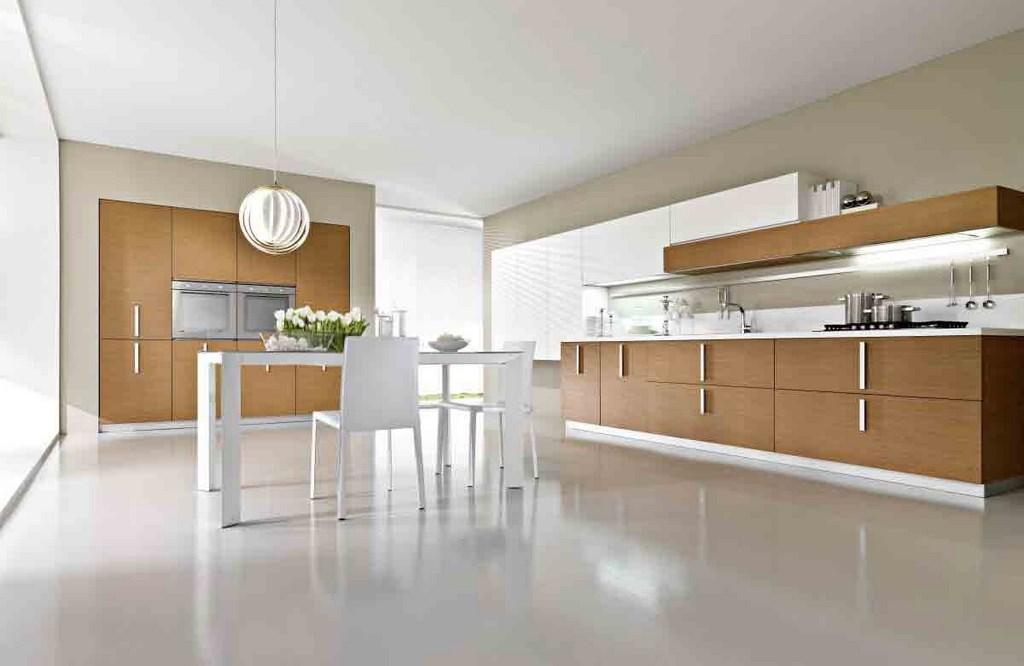 оформление современной кухни в стиле минимализм
