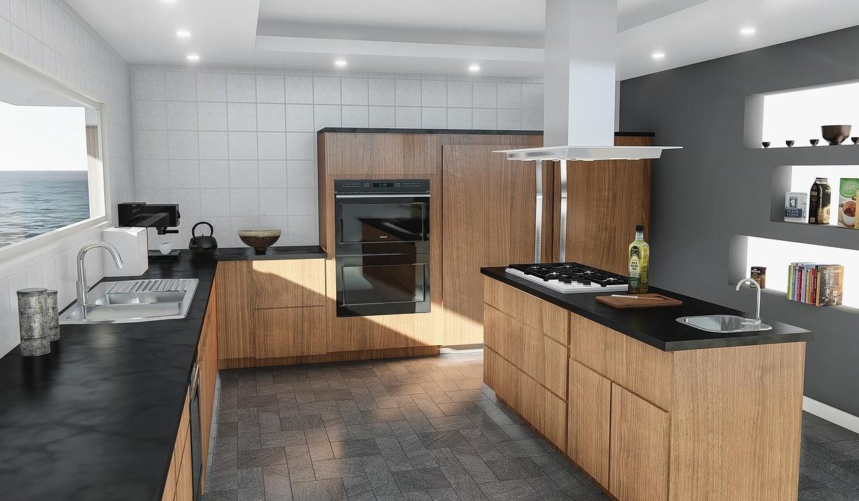 безупречный интерьер кухни в стиле минимализм