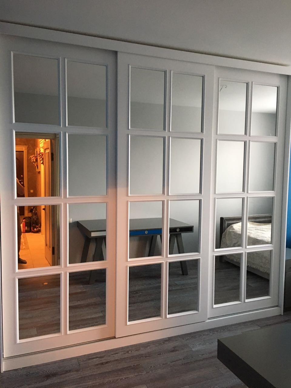 Зеркальный шкаф-купе под заказ в Москве от производителя